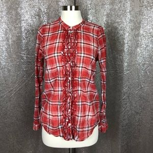 Abercrombie & Fitch checkered top